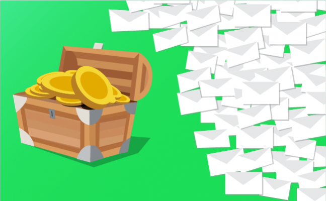One man's junk mail- is a marketer's treasure